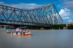 Howrah Bridge royalty free stock photo