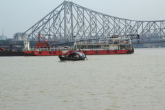 Howrah Bridge. Royalty Free Stock Photography