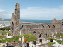 Howth Abbey. Or St Mary's Church, Ireland Royalty Free Stock Photos