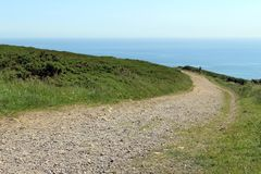 Howth Cliff Path Royaltyfri Foto
