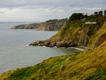 Howth Cliffs. Ireland. Stock Images