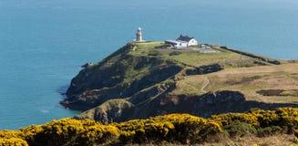 Howth, contea Fingal, Irlanda - faro di Baily Fotografia Stock