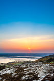 Howth at dawn, Dublin Royalty Free Stock Images
