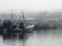 Howth fartyg - Dublin, Irland Arkivbilder