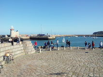 Howth harbor Royalty Free Stock Images