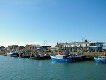 Howth harbor Royalty Free Stock Image