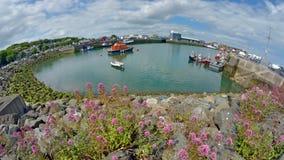 Howth harbor county Dublin, Ireland. Stock Photo