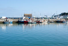 Howth harbor, Dublin,Ireland Royalty Free Stock Photography