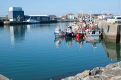 Howth harbor, Dublin,Ireland Stock Photos