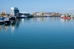 Howth harbor, Dublin,Ireland Royalty Free Stock Image