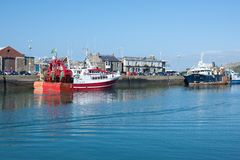 Howth harbor, Dublin,Ireland Stock Photography