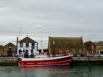 Howth harbor. Ireland Royalty Free Stock Images