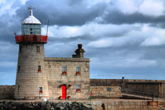 Howth Harbour Lighthouse, Ireland Stock Photography