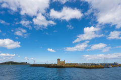 Howth Harbour Lighthouse, Ireland Stock Images