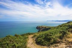 Howth Head with Baily Lighthouse. Dublin, Ireland Royalty Free Stock Photo
