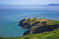 Howth Head with Baily Lighthouse. Dublin, Ireland Stock Photo