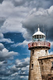 Howth Lighthouse. Details of the Howth Lighthouse in Dublin, Ireland Royalty Free Stock Images