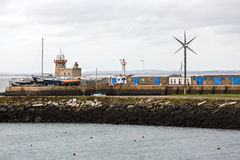 Howth lighthouse in Ireland Stock Images