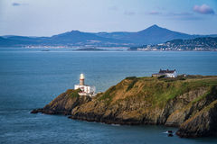 Howth lighthouse before sunrise Royalty Free Stock Photo