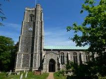 Hoxne St Peter und St. Paul Church, Suffolk, Großbritannien lizenzfreie stockfotografie