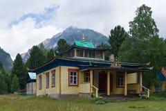 Hoymorsky Arshansky datsan Bodhidharma w Arshan wiosce Zdjęcia Stock