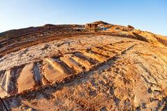 Hoyo de la explotación minera Open Imagenes de archivo