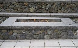 Hoyo de piedra del fuego Imagen de archivo