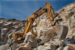 Hoyo de piedra - mina Foto de archivo libre de regalías