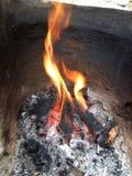 Hoyo del fuego Foto de archivo libre de regalías