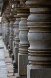 Hoysala dynastri的古老建筑学 库存图片