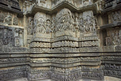 Hoysaleshwara Hindu temple,India Stock Image