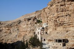 Hozeva Monastery In Israel Stock Photography