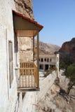 Hozeva monastery in Israel Stock Image