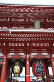 Hozo-Mon Gate at Senso-Ji Stock Photography
