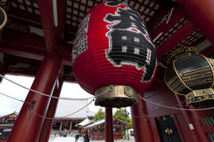 Hozomon Gate at Sensoji Asakusa Temple Stock Photography