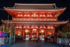 Hozomon Gate at Sensoji Temple in Tokyo Stock Images