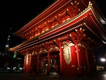 Hozomon-Tor und Tokyo Skytree stockbild