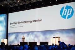 HP executa o vice-presidente Dave Donatelli Fotografia de Stock
