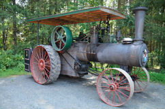 150 hp J.I. Case steam engine. At Howell Living History Farm Royalty Free Stock Photography