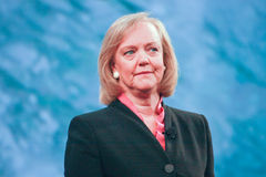 HP president and CEO Meg Whitman Stock Photography