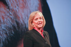 HP president and CEO Meg Whitman Stock Photo