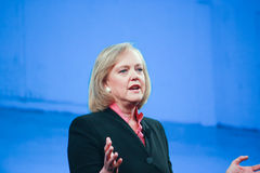 HP president and CEO Meg Whitman Royalty Free Stock Photos