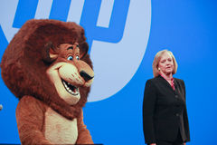 HP president and CEO Meg Whitman Stock Images