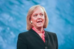 HP president and chief executive officer Meg Whitman Stock Photography
