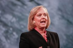 HP president and chief executive officer Meg Whitman Royalty Free Stock Image