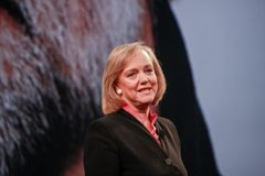 HP president and chief executive officer Meg Whitman Royalty Free Stock Photo