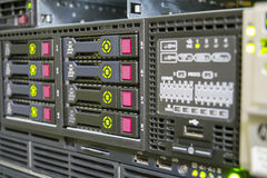 HP servers Royalty Free Stock Photography