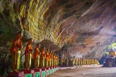 沙丹罪孽极小的洞 Hpa-An,缅甸缅甸 免版税图库摄影