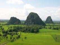 Hpa-an auf Myanmar Stockfotos