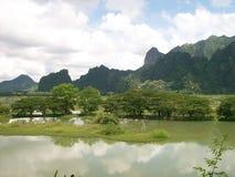 Hpa-an auf Myanmar Lizenzfreie Stockfotografie